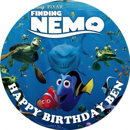 Finding Nemo Edible Cake Topper